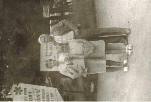 Rodinná foto s manželem a dcerou