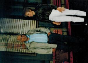 Maruška s manželem
