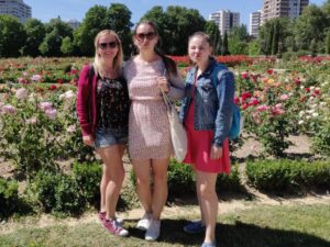 S dcerami Luckou a Míšou